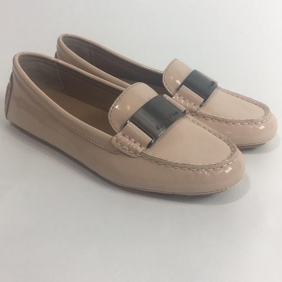 7bcdc28d2102 Calvin Klein Lisette Blush Womens Loafers NIB